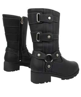 NEW HARLEY DAVIDSON TRINI LEATHER WOMENS BOOTS