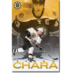 Zdeno Chara Poster Boston Bruins Nhl Hockey 8643 Poster