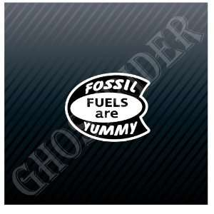 Vintage Fossil Fuels are Yummy Petroleum Gas Fuel Pump Hot