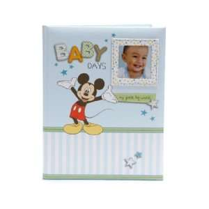 Disney Mickey Mouse Baby Boy Keepsake Record Memory Book Baby
