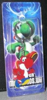 Super Mario Bros. Wii Red Yoshi Metal Keychain