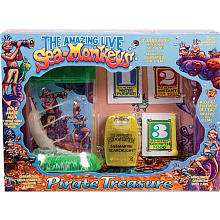 Live Sea Monkeys   Pirate Treasure   Big Time Toys   Toys R Us