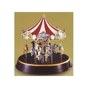 Mr. Christmas Gold Label Marquee Carousel