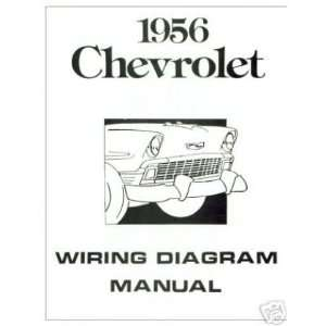 1956 CHEVROLET Wiring Diagrams Schematics: Automotive