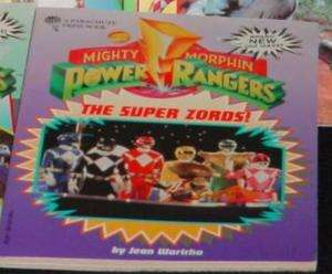Power Rangers Super Zords book kids color pics!