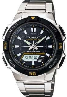 Mens Casio Tough Solar World Time Watch AQS800WD 1EV AQ S800WD 1EV
