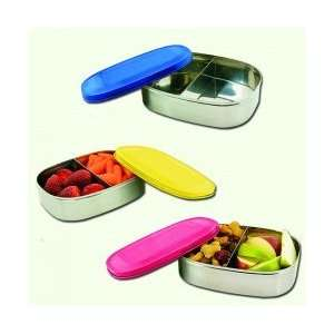 Stainless Steel Food Container with Divider 1 Container