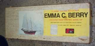 Sterling Wood Ship Model Kit B21M Schooner Emma C Berry