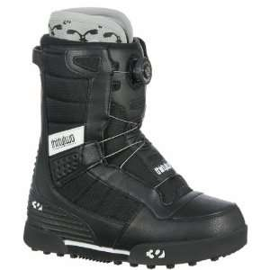 Thirtytwo Mens Niu Boa Snowboard Boots (Black/White)   9