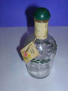Shulton FRIENDSHIP GARDEN TW EMPTY PERFUME BOTTLE p29