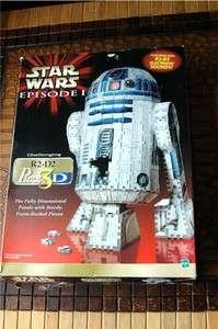 Wrebbit 708 Piece Star Wars R2 D2 3D Puzzle Puzz3D R2D2