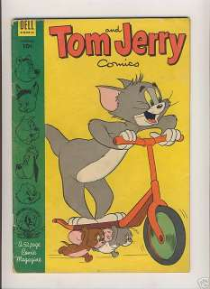 TOM AND JERRY COMICS 110 DELL PUBLISHING GOLDEN AGE MGM