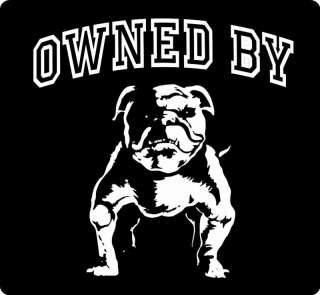Funny English BULLDOG Bull Dog Graphic T Shirt NEW BLK.