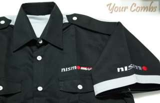 NISSAN NISMO MOTOR SPORT TEAM RACING PIT SHIRT M 5XL
