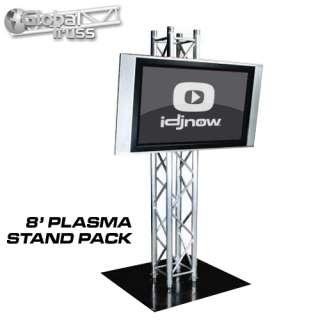 GLOBAL TRUSS PLASMA STAND 8 BOX TRUSS PLASMA TV STAND