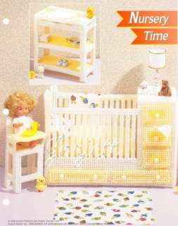 Nursery Time, Annies pc patterns fit Barbie dolls