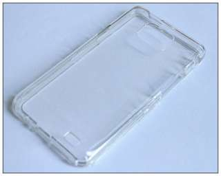 Clear Crystal Hard front & Back Case Cover for Samsung i9100 Galaxy S