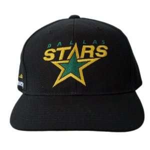 NHL Dallas Stars Bauer Brand Snapback Adjustable Cap Hat