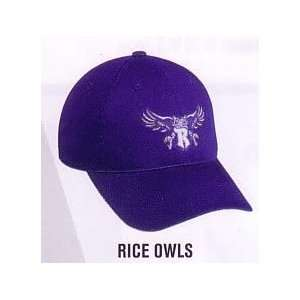 Rice Owls Official Licensed College Velcro Adjustable Cap (Hat Size