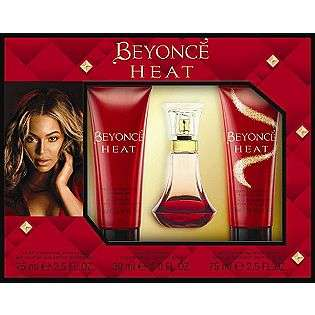 piece Fragrance Gift Set  Beyonce Heat Beauty Fragrance Fragrance