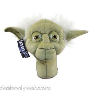 NEW Star Wars Yoda Jedi Putter / Hybrid Golf Head Cover