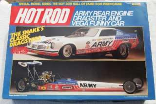 REVELL 1/16 THE SNAKE DRAGSTER/FUNNY CAR DOUBLE KIT   DON PRUDHOMME