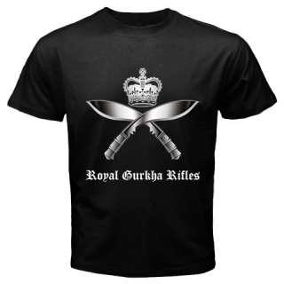 Royal Gurkha Rifles Kukri Nepal of British Army T shirt