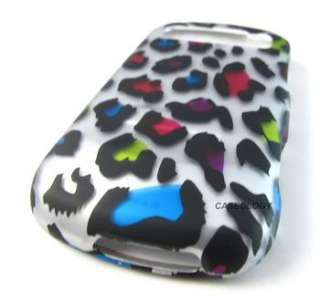 COLORFUL LEOPARD HARD CASE COVER FOR SAMSUNG ADMIRE VITALITY PHONE