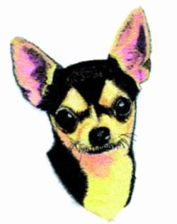 Black and Tan CHIHUAHUA DOG Tote Bag breed puppy NEW RED