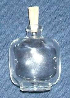 ml Miniature Glass Bottle small cork stopper