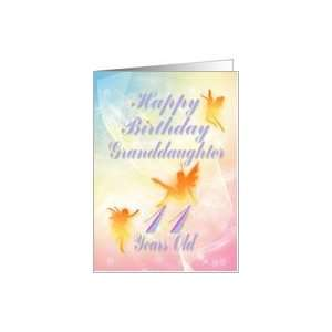 Dancing fairies Birthday card, granddaughter, 11 years old