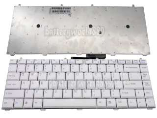 NEW GENUINE SONY VAIO LAPTOP KEYBOARD KFRMBA220A VGN FS SERIES GREY US
