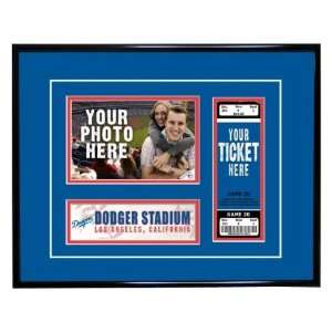 Dodgers Game Day Ticket Frame   Los Angeles Dodgers Sports & Outdoors