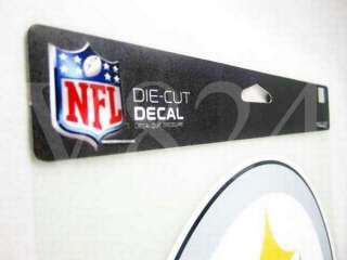 NFL Pittsburgh Steelers 8x8 Die Cut Decal Sticker