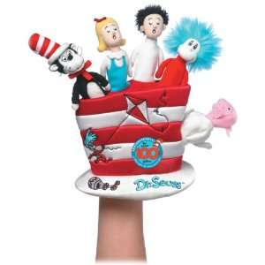 Dr.Seuss   Cat in the Hat Glove Hand Puppet Toys & Games