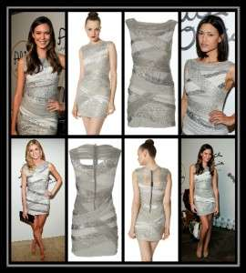Sequin Dress 4 NWT Seen on Julia Jones, Odette Yustman & Erin Andrews