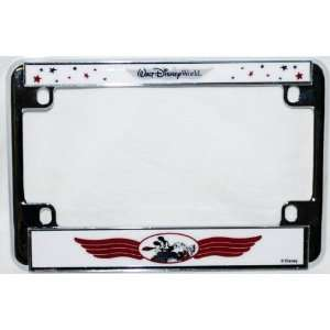 World Mickey Mouse Motorcycle/Bike License Plate Frame