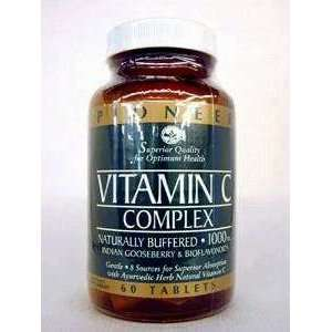 Pioneer   Vitamin C Complex 1000 mg 60 vtabs Health