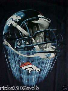 DENVER BRONCOS HELMET SHIRT NEW WITH TAG. ONE OF A KIND