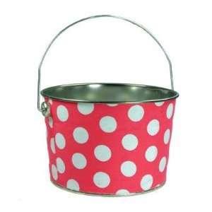 Polka Dot Hippo Bucket Baby