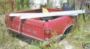Dodge Pick Up Truck Short Bed W Running Boards