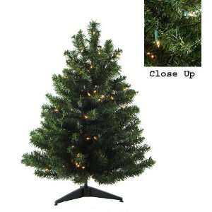 Two Tone Pine Artificial Christmas Tree   Clear Lights