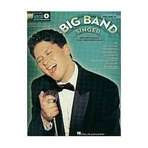 The Big Band Singer Softcover with CD