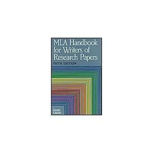 Mla Handbook for Writers of Research Papers (9780641628832