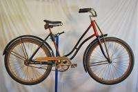 1933 Pre War Arnold Schwinn Ladies Pullman antique bicycle bike
