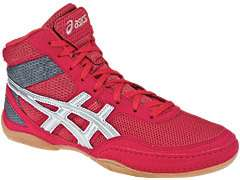 NEW Asics Matflex 3 Mens Wrestling Shoes, Red/Charcoal, Most Sizes