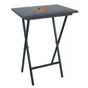 Orioles Team Logo TV Trays/Tailgate Tables