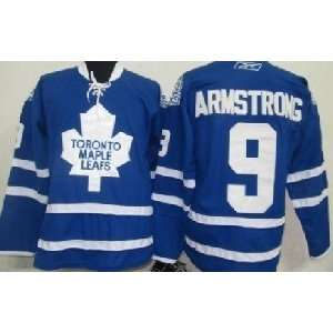 2012 New NHL Toronto Maple Leafs #9 Armstrong Blue Ice