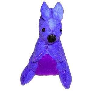 Cheppu Felt Kangaroo Toy Blue Toys & Games