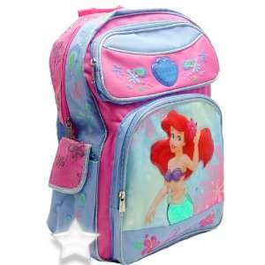 Disney Princess Ariel Little Mermaid Large Backpack Toys & Games